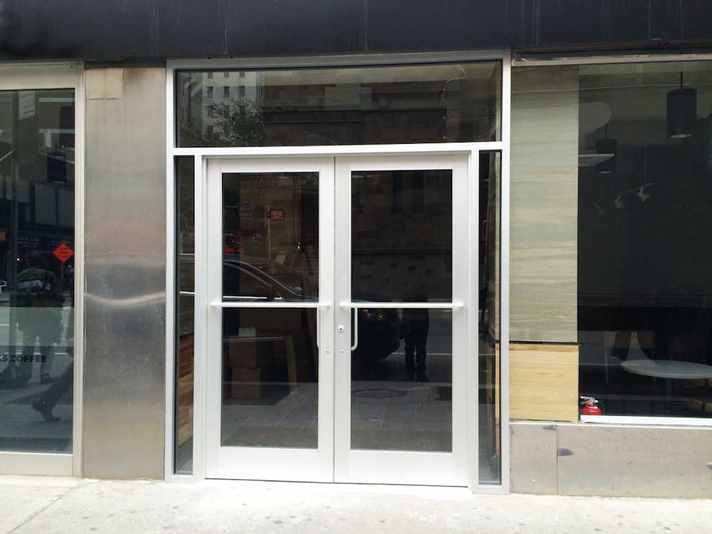 Front doors repair installation and service for Commercial glass doors