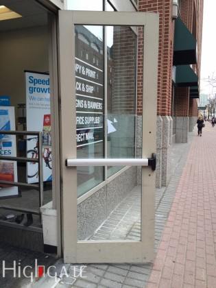 Commercial Glass Door Repairs, New York