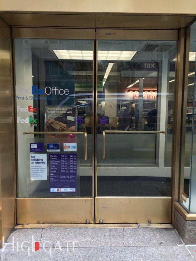 Glass Front Doors NYC