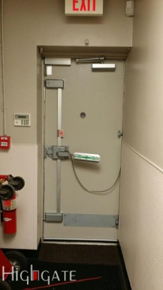 Fire door repair