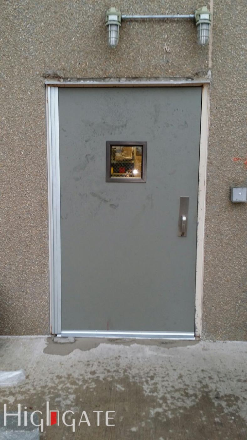 High security doors repair install