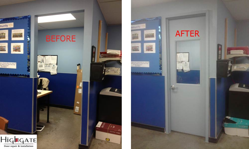 Hollow Metal Doors Repair & Install