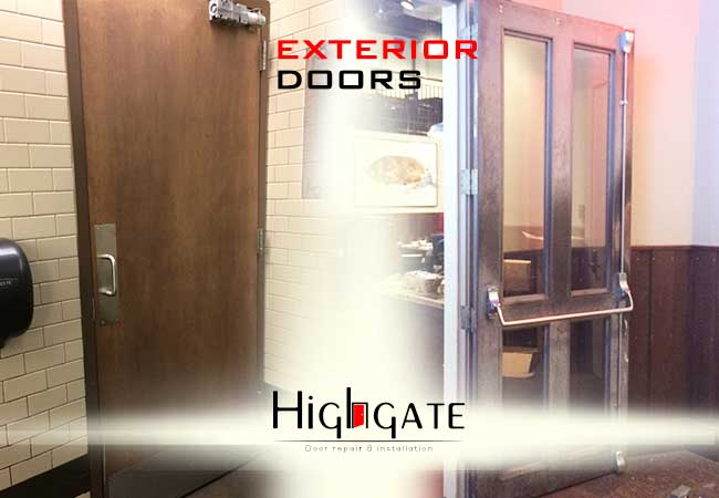 Exterior Doors Repair NYC